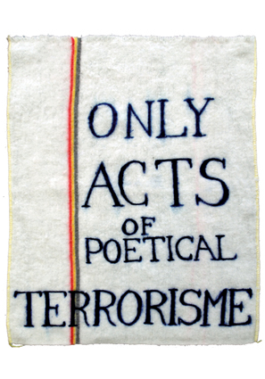 Bic-dweil / Only acts of poetical terrorisme