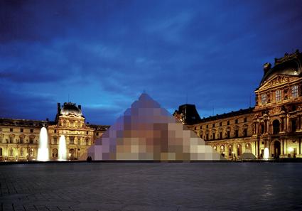 Sans titre (Pyramide du Louvre)