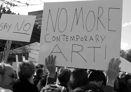 No to Contemporary Art # P10