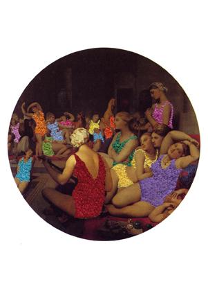 Les nus rhabillés (Ingres, Le bain turc)