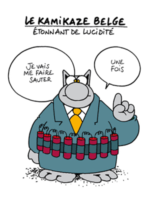 Le kamikaze belge